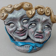 Sculpture: Comedy & Tragedy Masks