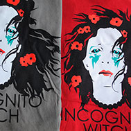 T-Shirt: Incognito Witch Logo